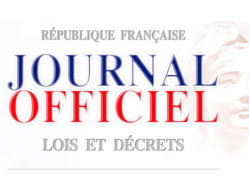 Publications officielles
